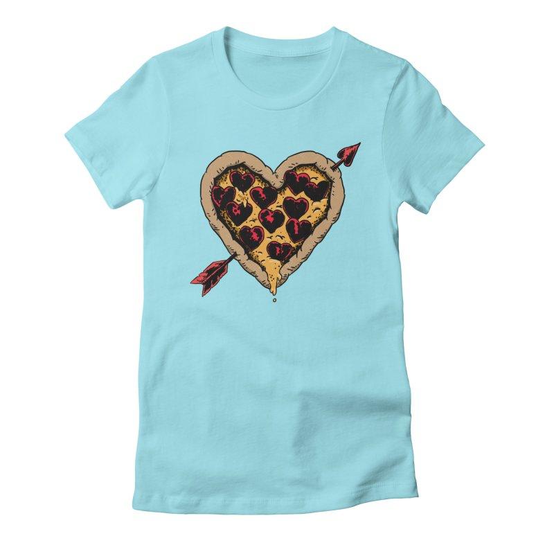 Pizza Love Women's T-Shirt by Iheartjlp