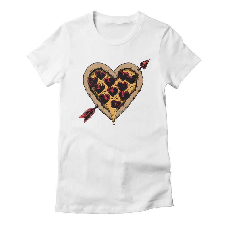 Pizza Love Women's T-Shirt by Iheartjlp