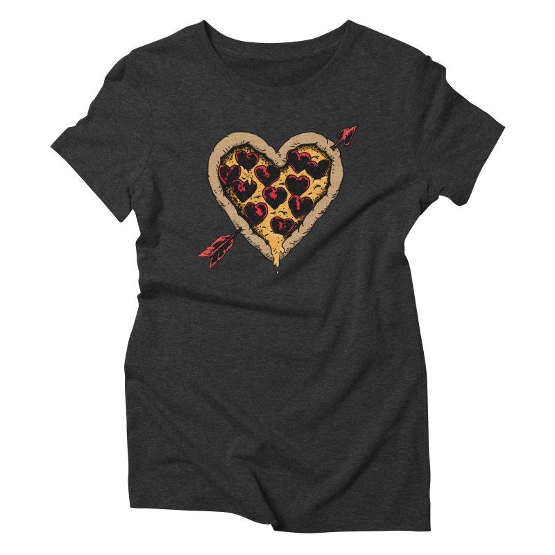Pizza Love Women's Triblend T-Shirt by Iheartjlp