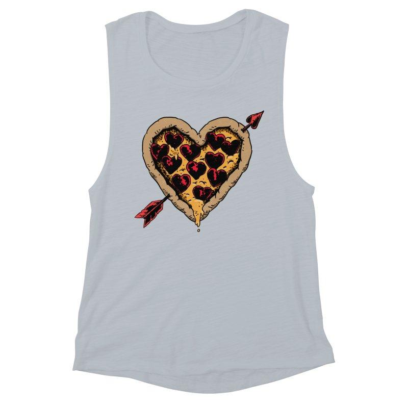 Pizza Love Women's Tank by Iheartjlp