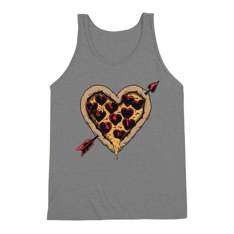 Pizza Love Men's Tank by Iheartjlp