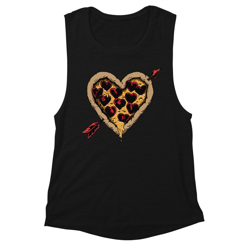 Pizza Love Women's Tank by Iheartjlp