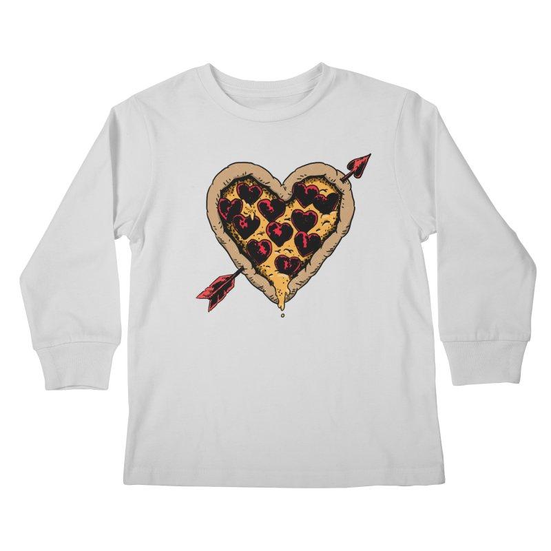 Pizza Love Kids Longsleeve T-Shirt by Iheartjlp