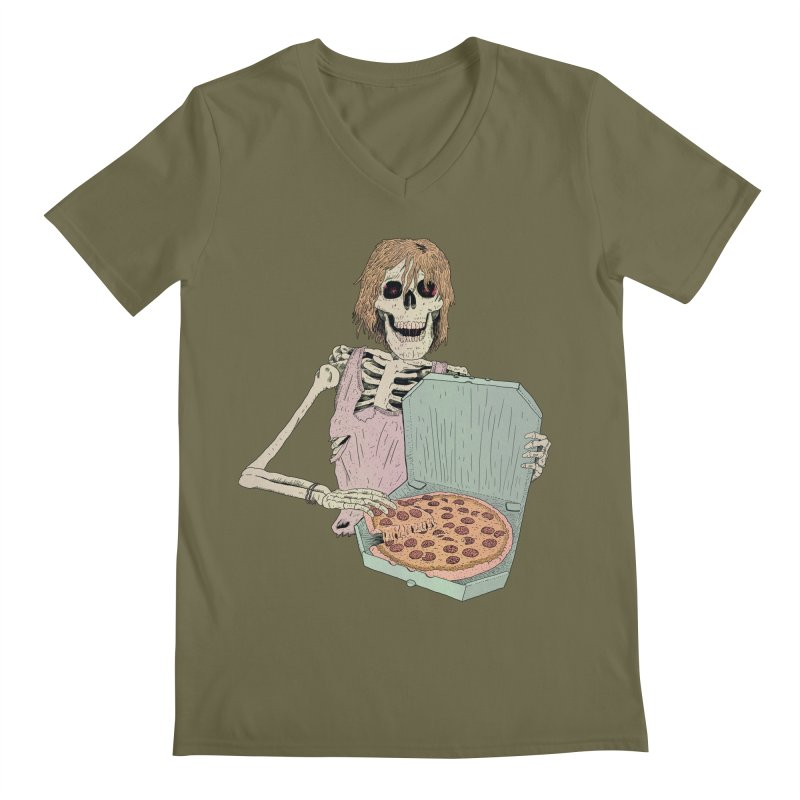 Even in Death Men's V-Neck by Iheartjlp
