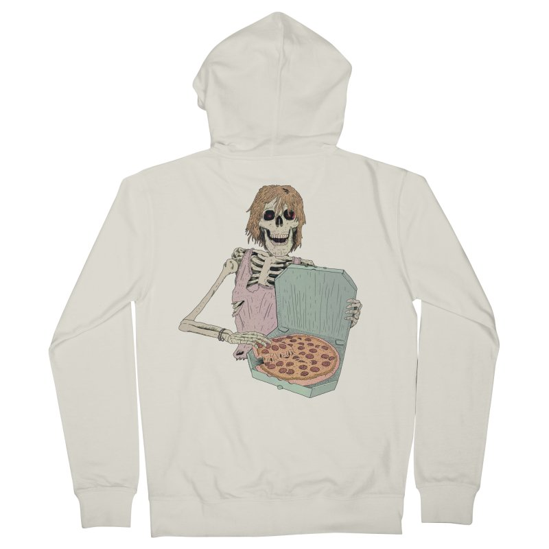 Even in Death Men's French Terry Zip-Up Hoody by Iheartjlp