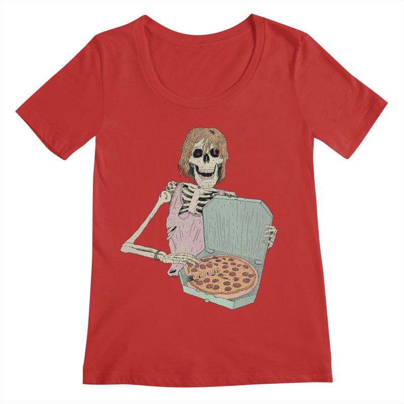 Even in Death Women's Regular Scoop Neck by Iheartjlp