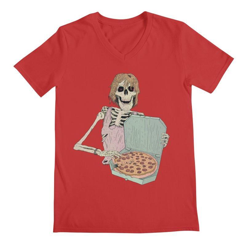 Even in Death Men's Regular V-Neck by Iheartjlp
