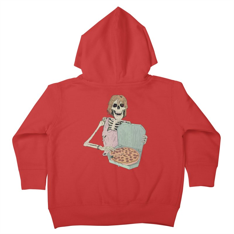 Even in Death Kids Toddler Zip-Up Hoody by Iheartjlp
