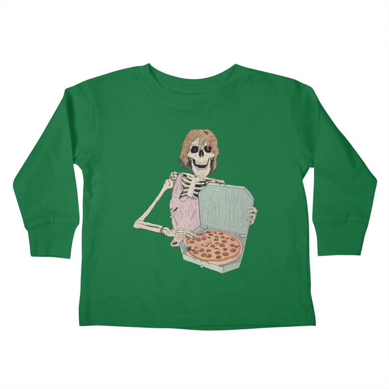 Even in Death Kids Toddler Longsleeve T-Shirt by Iheartjlp