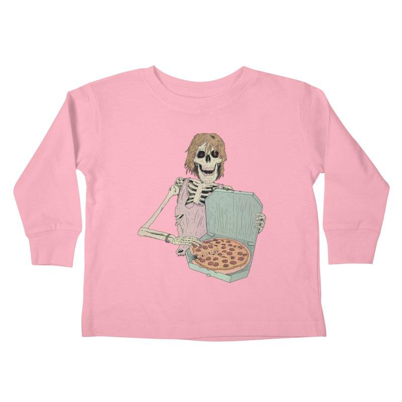 Even in Death Kids Toddler Longsleeve T-Shirt by Iheartjlp