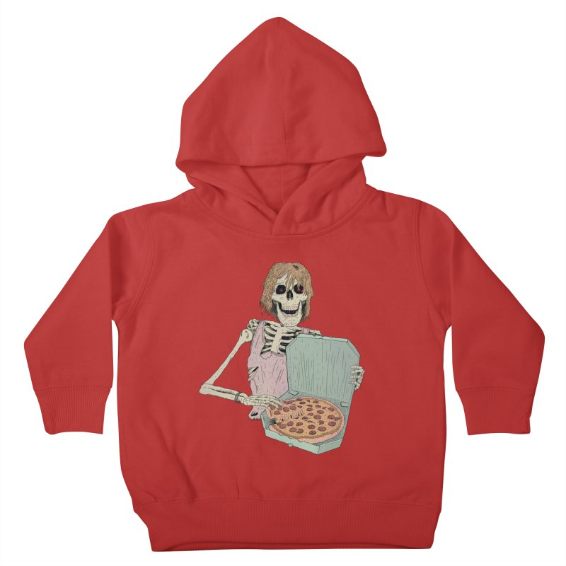 Even in Death Kids Toddler Pullover Hoody by Iheartjlp
