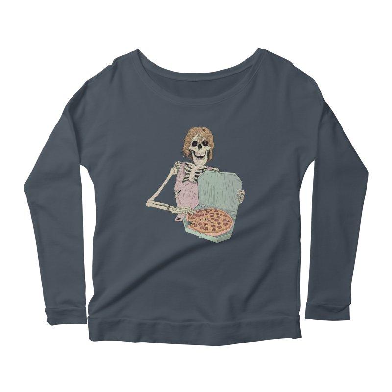 Even in Death Women's Scoop Neck Longsleeve T-Shirt by Iheartjlp