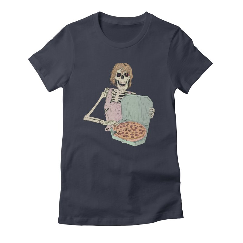 Even in Death Women's Fitted T-Shirt by Iheartjlp