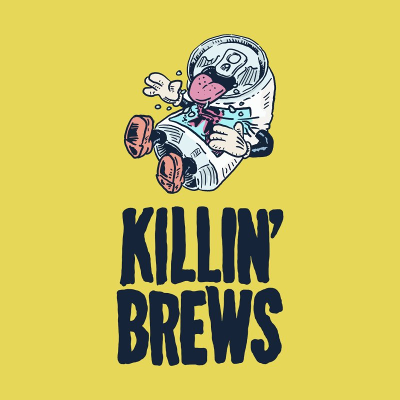 Killin' Brews Men's Zip-Up Hoody by Iheartjlp