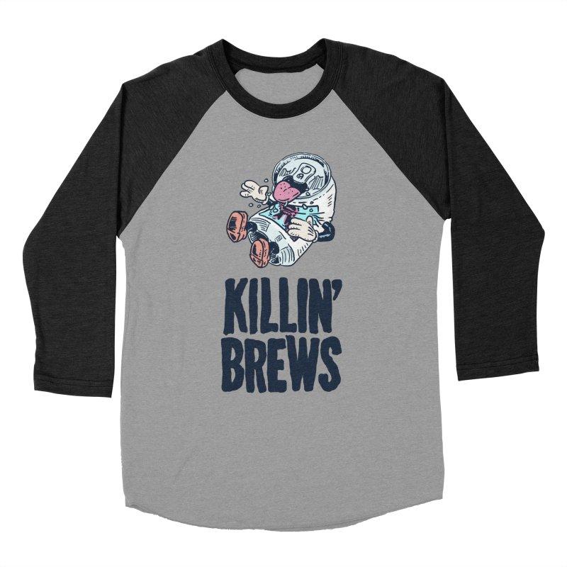 Killin' Brews Women's Baseball Triblend Longsleeve T-Shirt by Iheartjlp