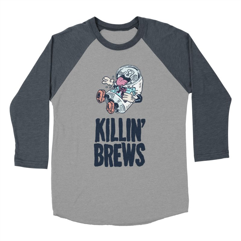 Killin' Brews Women's Baseball Triblend T-Shirt by Iheartjlp