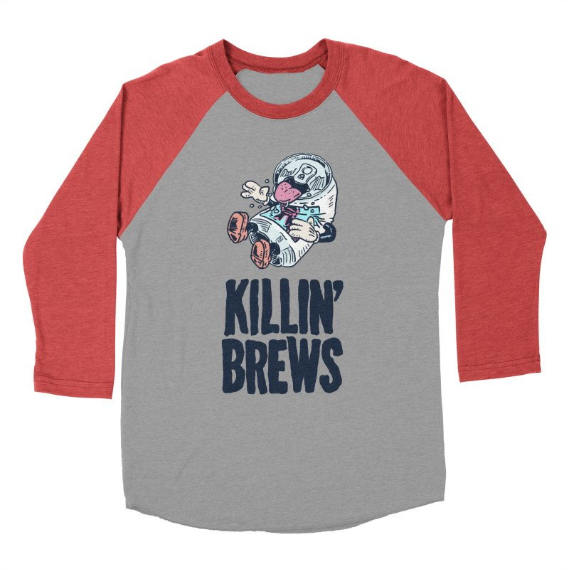 Killin' Brews Men's Baseball Triblend Longsleeve T-Shirt by Iheartjlp