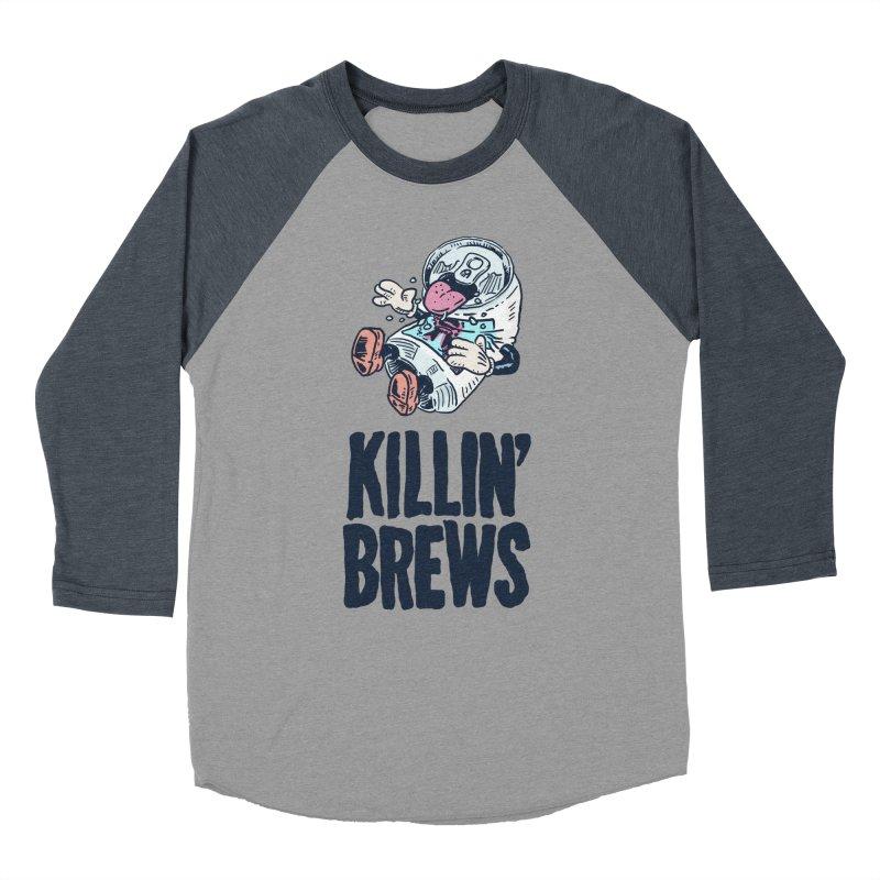 Killin' Brews Men's Baseball Triblend T-Shirt by Iheartjlp