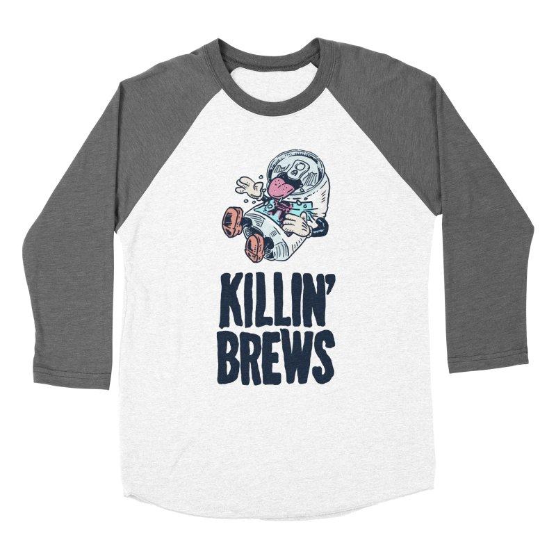Killin' Brews Men's Baseball Triblend Longsleeve T-Shirt by Iheartjlp