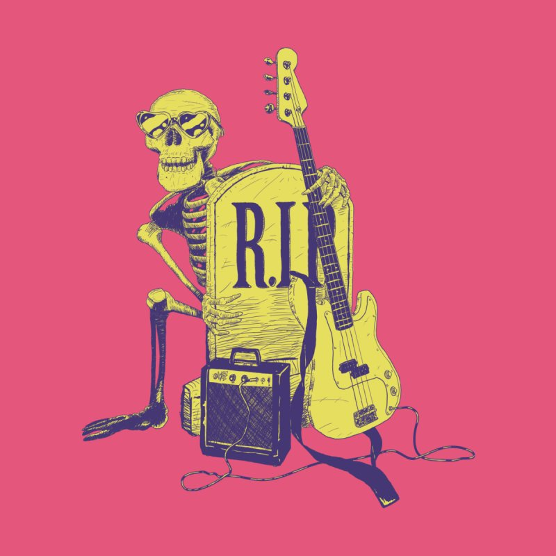 R.I.P. on the Bass by Iheartjlp