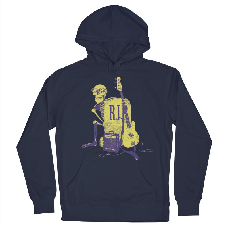 R.I.P. on the Bass Men's Pullover Hoody by Iheartjlp