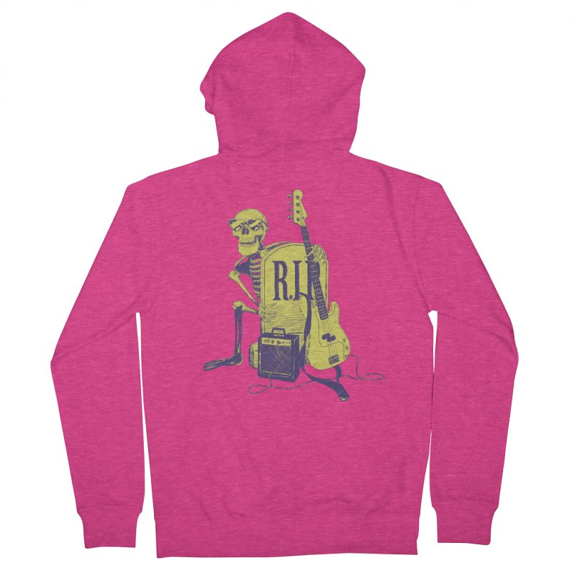 R.I.P. on the Bass Women's Zip-Up Hoody by Iheartjlp