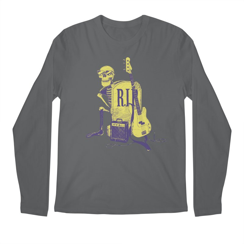 R.I.P. on the Bass Men's Longsleeve T-Shirt by Iheartjlp