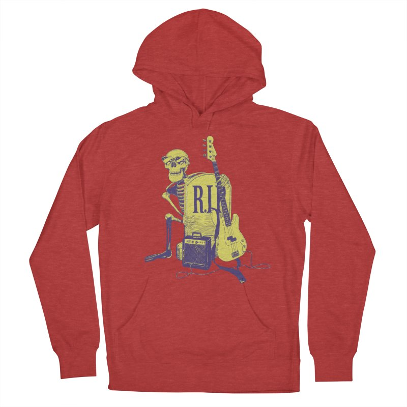 R.I.P. on the Bass Women's French Terry Pullover Hoody by Iheartjlp