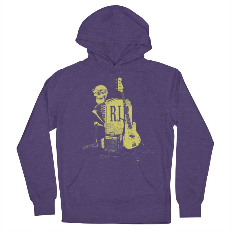 R.I.P. on the Bass Men's French Terry Pullover Hoody by Iheartjlp