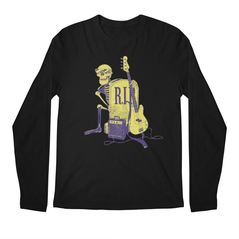R.I.P. on the Bass Men's Regular Longsleeve T-Shirt by Iheartjlp