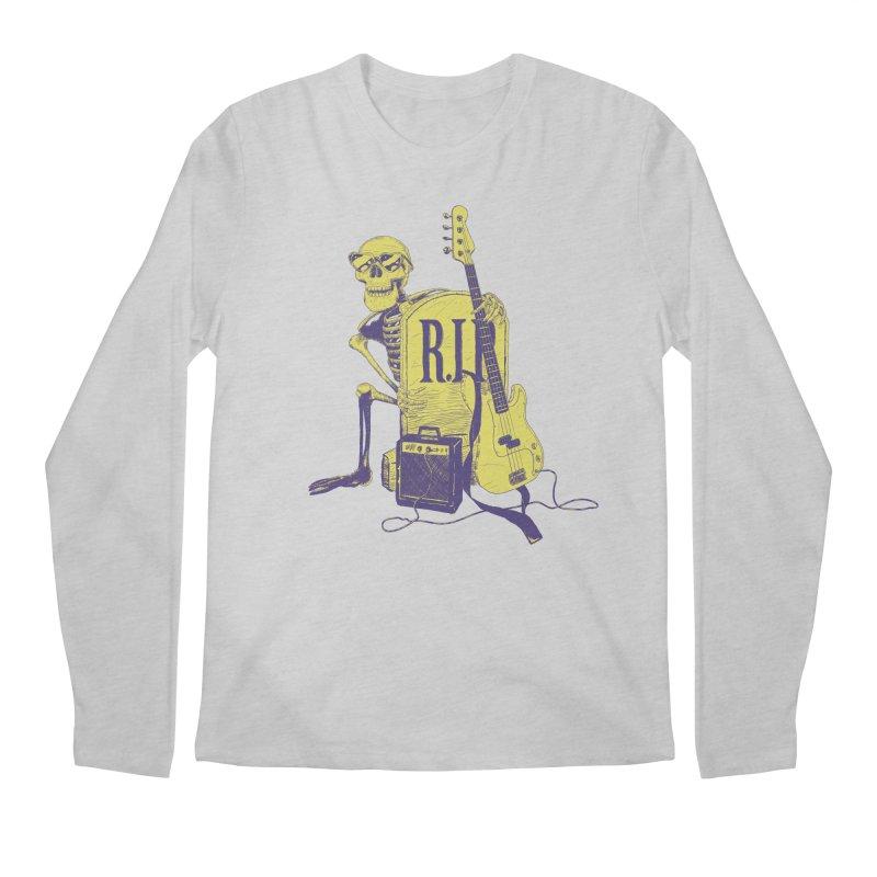 R.I.P. on the Bass Men's Regular Longsleeve T-Shirt by Iheartjlp