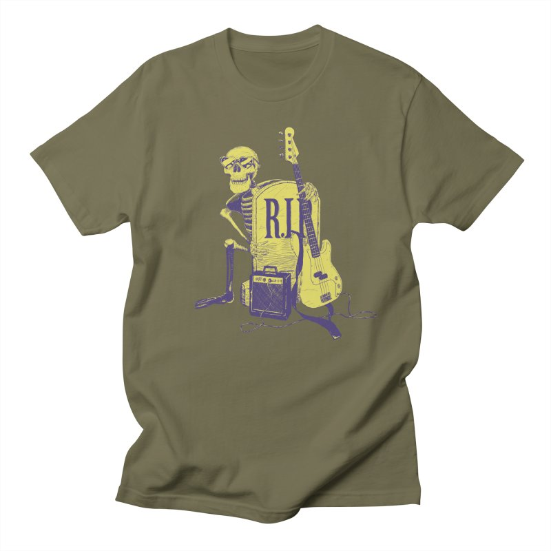 R.I.P. on the Bass Men's T-Shirt by Iheartjlp