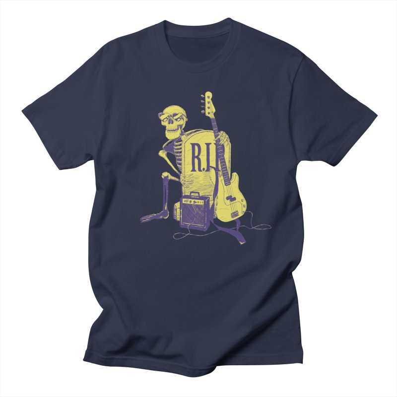 R.I.P. on the Bass Men's Regular T-Shirt by Iheartjlp