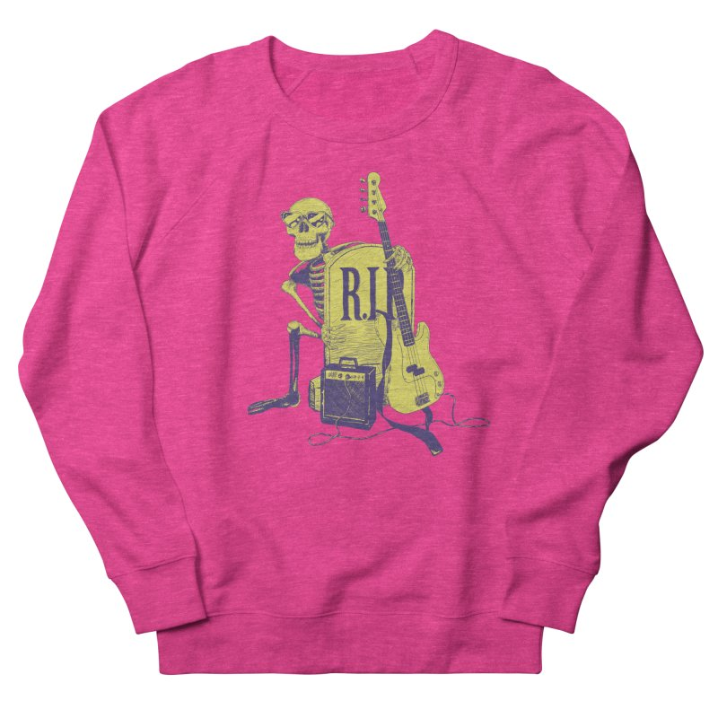 R.I.P. on the Bass Men's French Terry Sweatshirt by Iheartjlp