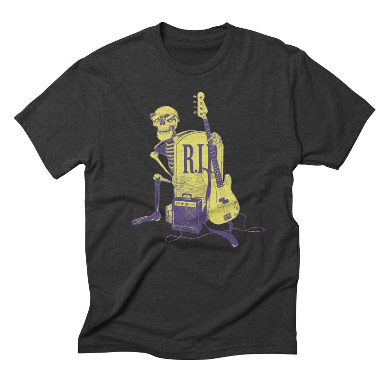 R.I.P. on the Bass Men's Triblend T-Shirt by Iheartjlp