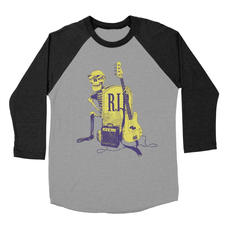 R.I.P. on the Bass Women's Baseball Triblend T-Shirt by Iheartjlp