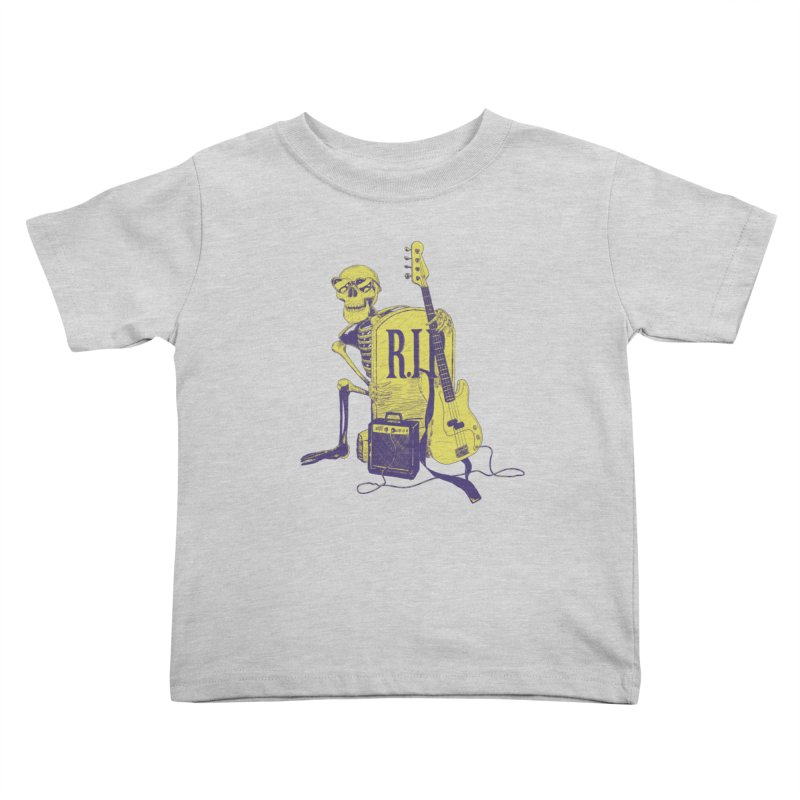 R.I.P. on the Bass Kids Toddler T-Shirt by Iheartjlp