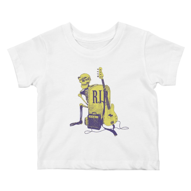 R.I.P. on the Bass Kids Baby T-Shirt by Iheartjlp