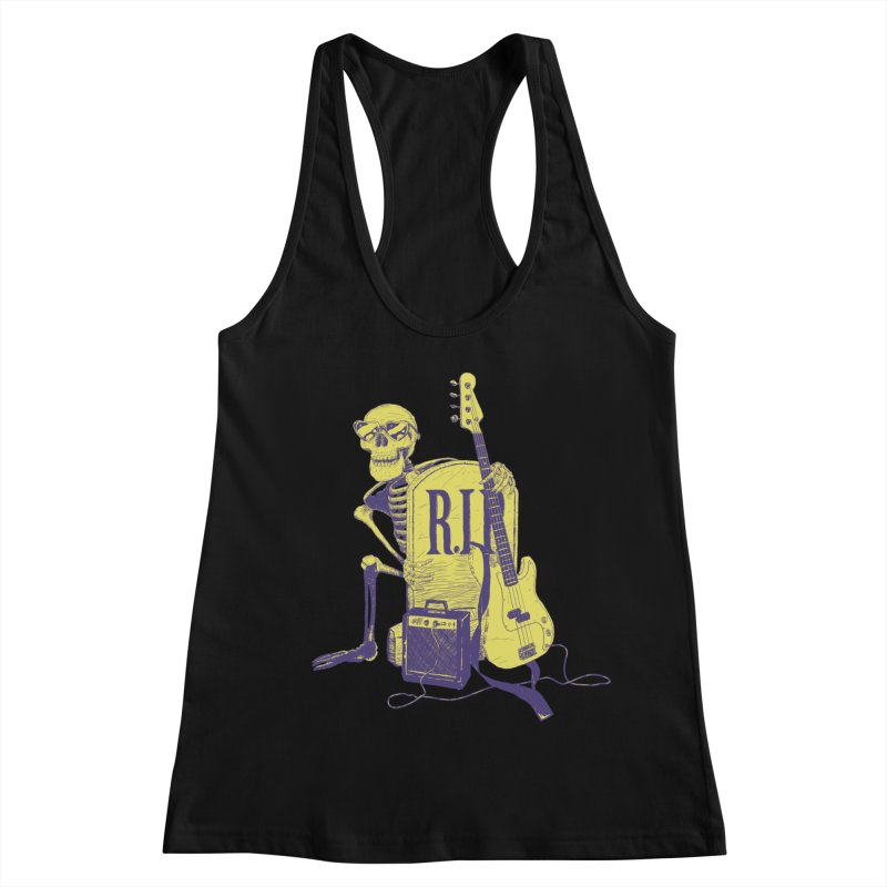 R.I.P. on the Bass Women's Tank by Iheartjlp