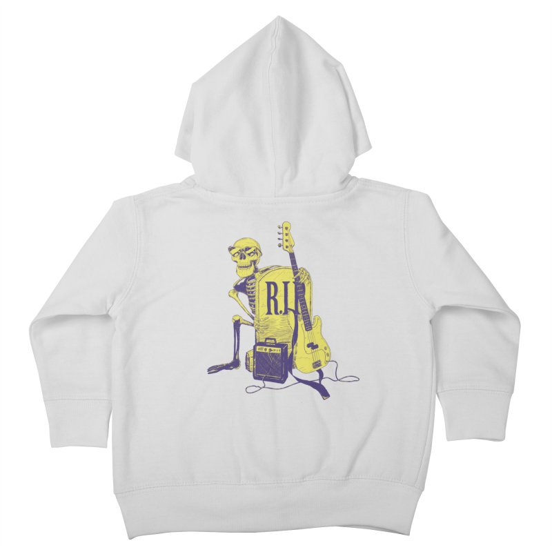 R.I.P. on the Bass Kids Toddler Zip-Up Hoody by Iheartjlp