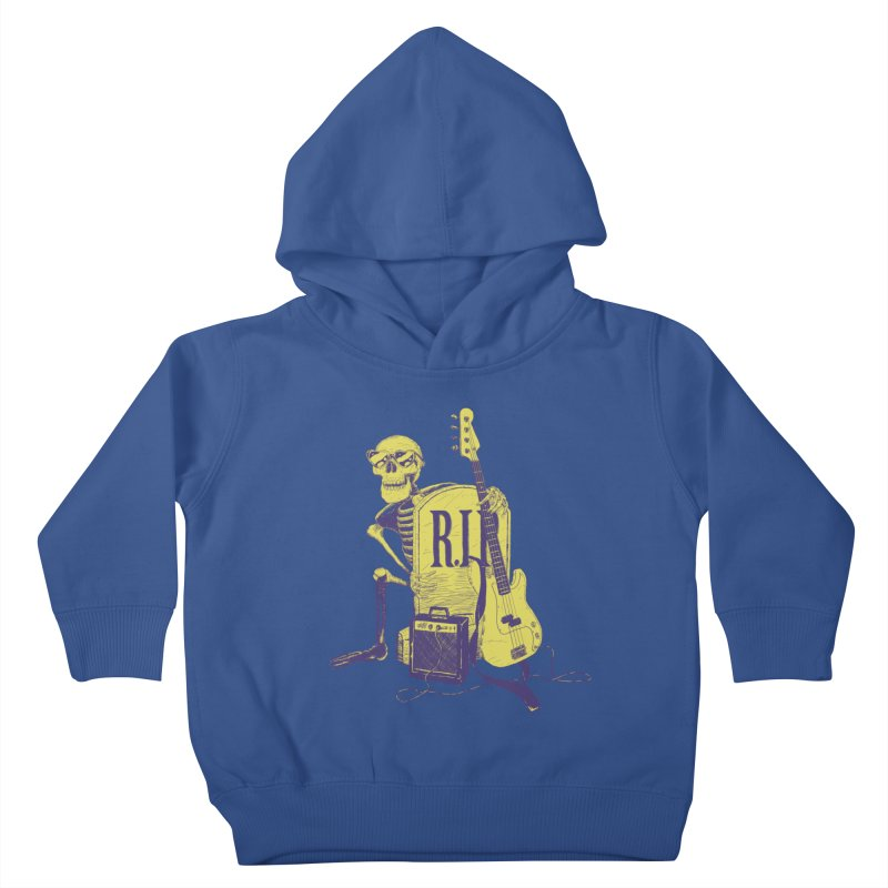 R.I.P. on the Bass Kids Toddler Pullover Hoody by Iheartjlp