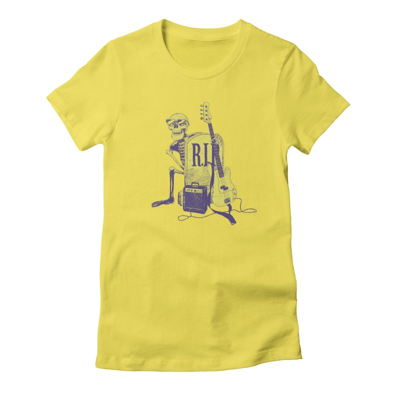 R.I.P. on the Bass Women's T-Shirt by Iheartjlp