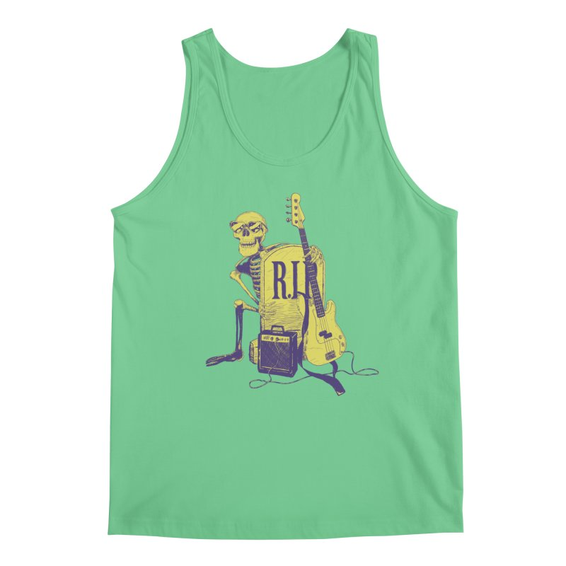 R.I.P. on the Bass Men's Tank by Iheartjlp