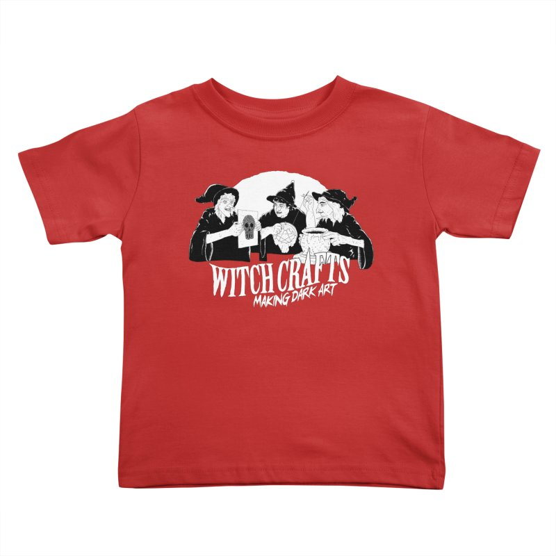 Witch Crafts Kids Toddler T-Shirt by Iheartjlp