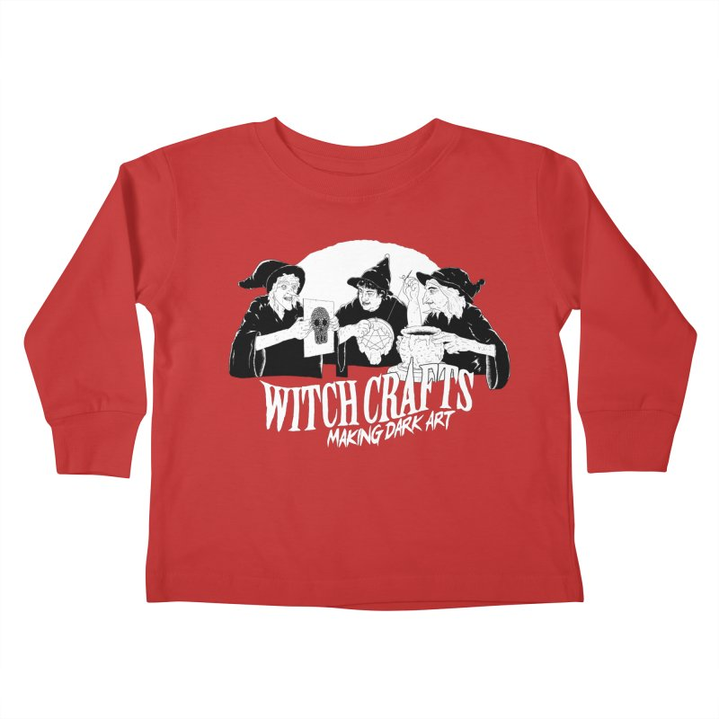 Witch Crafts Kids Toddler Longsleeve T-Shirt by Iheartjlp