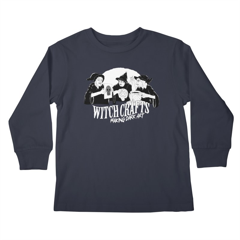 Witch Crafts Kids Longsleeve T-Shirt by Iheartjlp