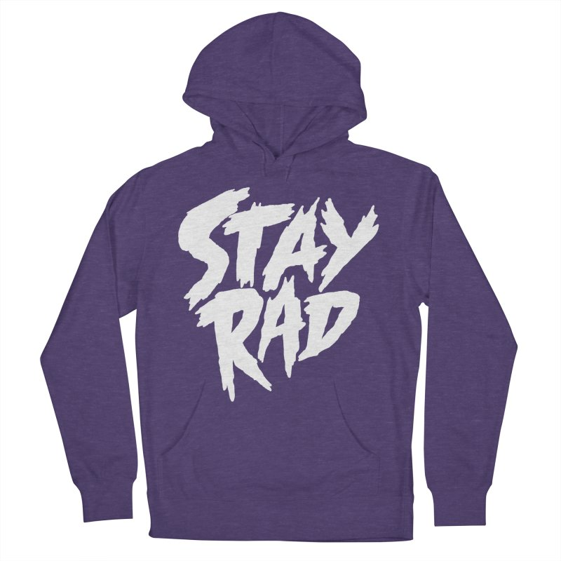 Stay Rad Men's French Terry Pullover Hoody by Iheartjlp