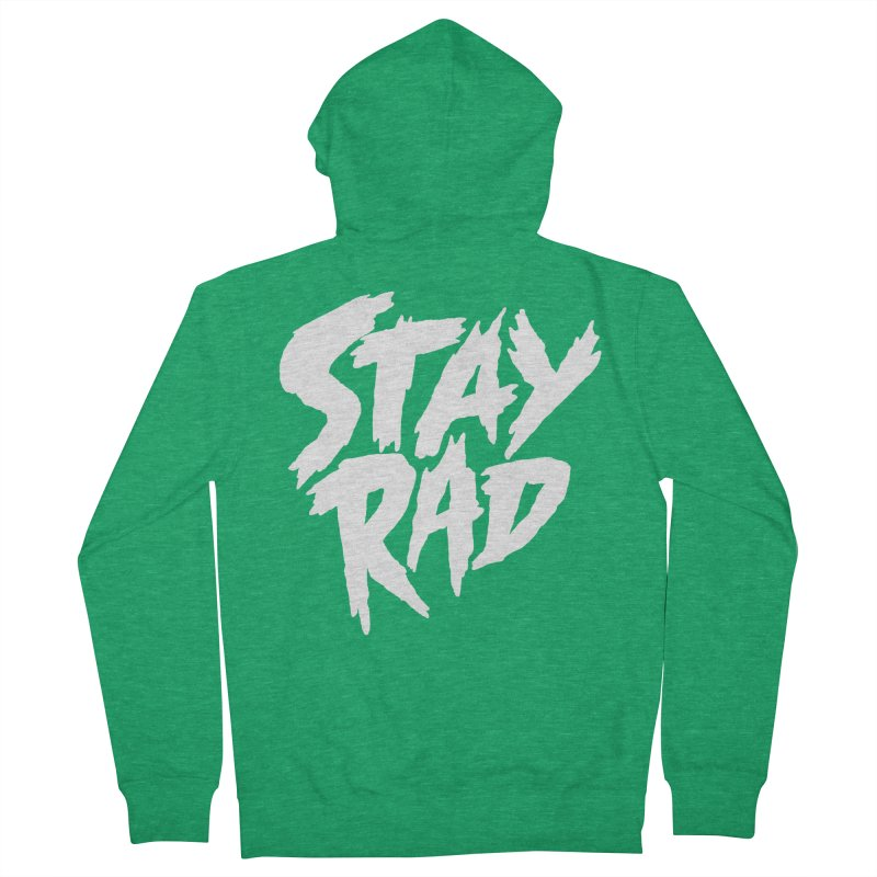 Stay Rad Men's Zip-Up Hoody by Iheartjlp