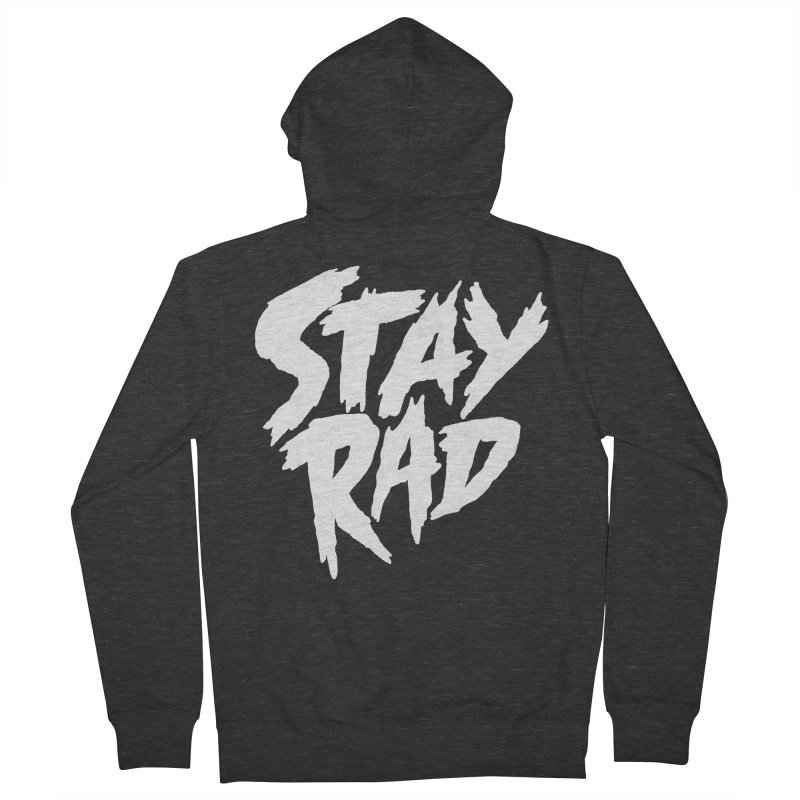 Stay Rad Men's French Terry Zip-Up Hoody by Iheartjlp