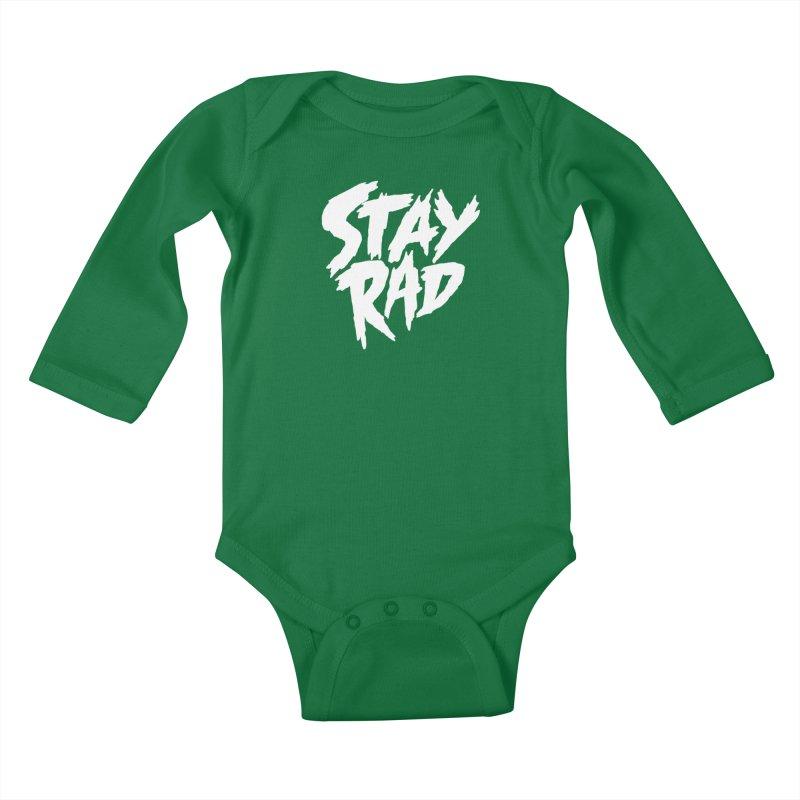 Stay Rad Kids Baby Longsleeve Bodysuit by Iheartjlp